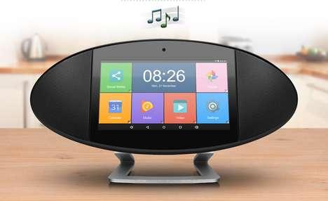 Touchscreen Home Media Hubs