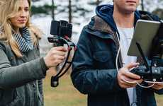 Collapsing Smartphone Stabilizers - The Steadicam 'Volt' Ensures Shake-Free Videos on Smartphones