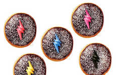 Heroic Ranger Donuts - These Donuts from Krispy Kreme Take Inspiration from Power Rangers