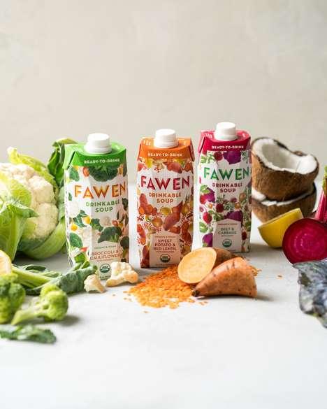 Drinkable Soup Cartons