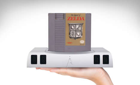 Retro Cartridge Games Consoles