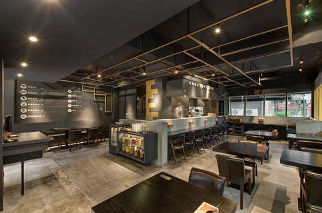 Asian Diner Restaurant Designs