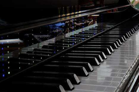 Digital Piano Teaching Devices - The 'RainPlay' Enables Players to Master the Piano