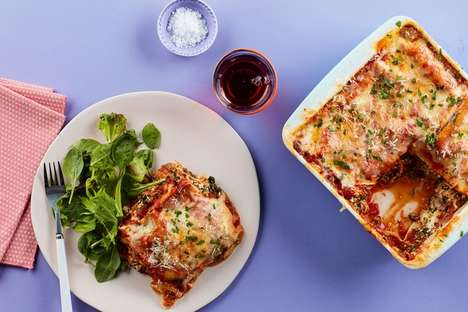 15-Minute Microwave Lasagnas - This Epicurious Recipe Shows How to Make Lasagna in the Microwave