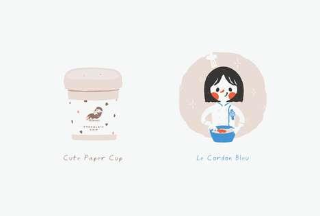 Cartoon Cookie Mascots