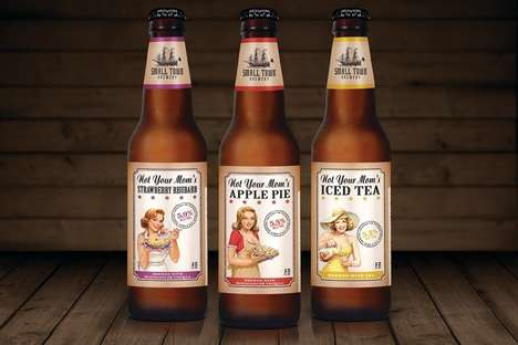 Fruity Homespun Beers - Not Your Mom's Artisanal Brews Celebrate Comforting Summer Flavors