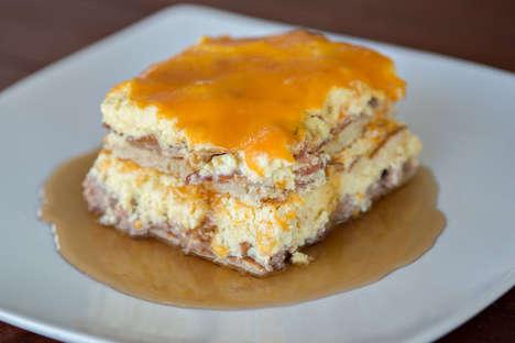 Hearty Pancake Lasagnas