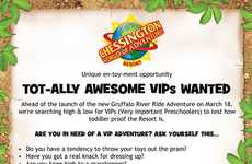 Kid-Friendly Resort Campaigns - Chessington World of Adventures is Now Seeking the Expertise of Kids