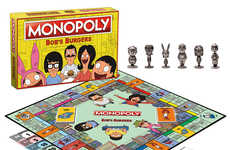Cartoon-Themed Board Games