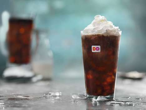 Salted Cold Coffee Drinks