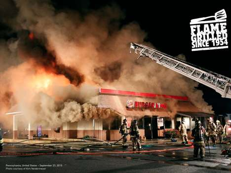 Flaming Fast Food Campaigns