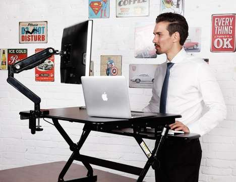 Adjustable Supplementary Desks