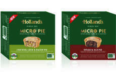 Savory Microwaveable Frozen Pies - The New Holland's Micro Pies Have a Fresh-Baked Taste