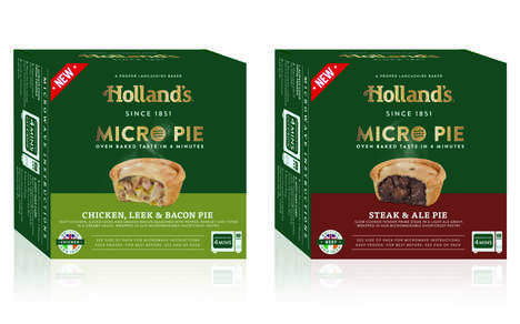 Savory Microwaveable Frozen Pies