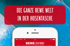 Emoji-Based Supermarket Apps - The New Rewe App Allows Customers to Search for Items by Emoji