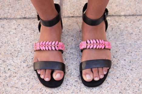 Interchangeable Jewelry Sandals