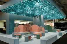 Minimalist Beachy Cafe Exhibitions - This Year's Ambiente Revealed the Endearing Cafe Jade Serenity