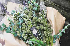 Special Occasion Cannabis Bouquets - Lowell Smokes Bouquet is Made with California Cannabis