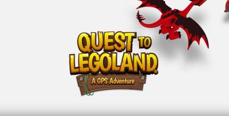 GPS Adventure Games - 'Quest to LEGOLAND' is a Boredom-Busting GPS Game for Kids