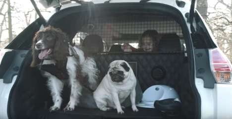 Pet-Friendly Vehicles - The Nissan X-Trail 4Dogs is a Concept Car for Dog Owners