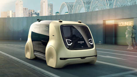 Volkswagen's Sedric Car Pod Concept Looks to the Future of Driving