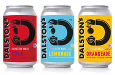 Craft Beet Sugar Sodas - The Dalston's Craft Sodas Contain Only Natural Ingredients