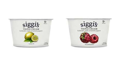 Icelandic-Style Dessert Yogurts