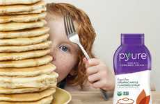 Sugar-Free Maple Sweeteners - Pyure's Organic Sugar Free Maple Flavored Syrup is Made with Stevia