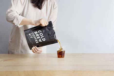 Portable Cold Brew Pouches