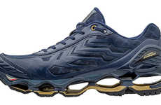 Italian Car Brand Sneakers - The Mizuno x Lamborghini Wave Tenjin 2 Sneaker Shoes Have Hollow Soles