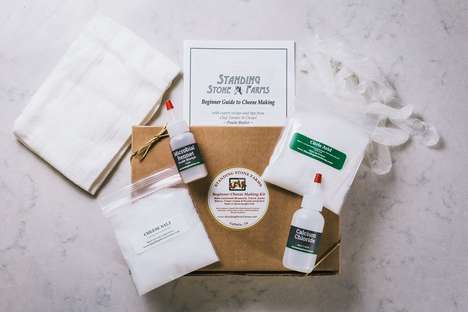 DIY Cheese Kits - The Standing Stone Farms Cheese Making Kits is Packed with Essential Ingredients