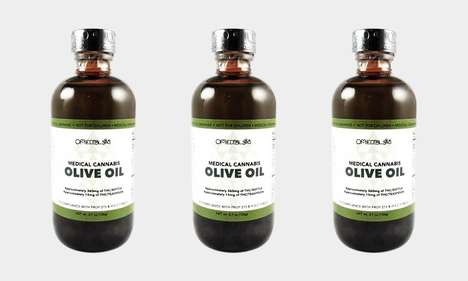 Medicinal Marijuana Olive Oils - The Om Edibles Cannabis-Infused Olive Oil is Sugar and Gluten-Free