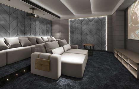 Plush Cinema Seating