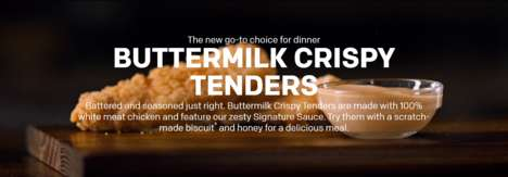 Buttermilk-Fried Chicken Tenders