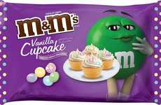 Pastel Cupcake-Flavored Candies - The New Vanilla Cupcake M&M's Celebrate the Start of Spring