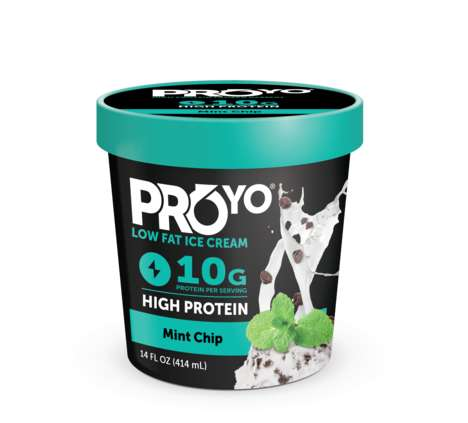 Protein-Packed Ice Creams - Ice Cream from ProYo Offers 10 Grams of Protein Per Serving