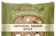 Gluten-Free Protein Cookies - Each Munk Pack Protein Cookie Boasts 18 Grams of Plant-Based Protein