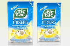 Flavor-Changing Fruit Mints - The Tic Tac Mixers Piña Colada Flavored Mints are Summer-Inspired