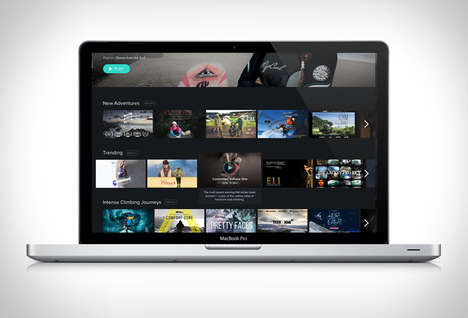 Adventure Film Streaming Services - 'Slipstream' Delivers Access to Exciting Content and More