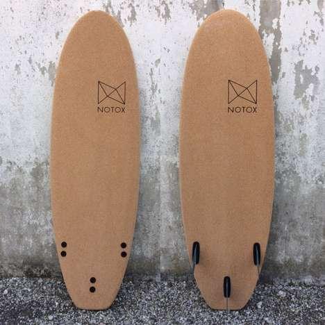 Eco-Friendly Cork Surfboards