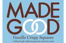 Health-Focused Cereal Bars - Made Good's Vanilla Crispy Squares Sneak in Vegetable Nutrients