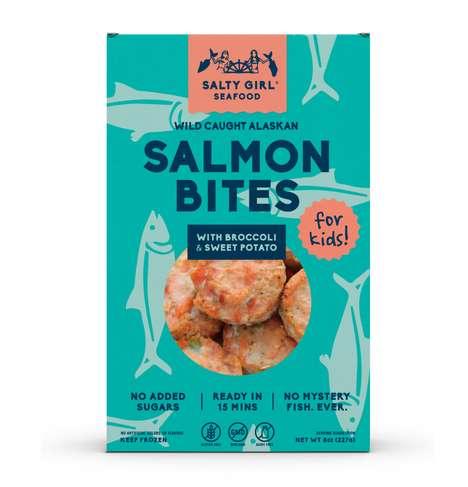 Kid-Friendly Salmon Bites