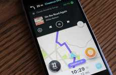 Music-Friendly Navigation Apps - The Spotify and Waze Partnership Makes Digital Directions Safer
