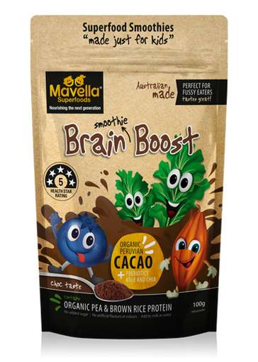 Brain-Boosting Smoothie Mixes - Mavella Superfoods' Kid-Friendly Smoothies are Vitamin-Enriched