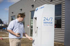 Self-Service Car Repair Stands - The Ford Smart Service Kiosk Automates Trips to the Mechanic
