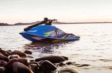 Gas-Free Standup Watercraft
