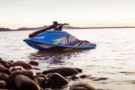 Gas-Free Standup Watercraft