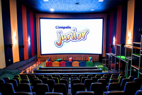 Playroom-Inspired Cinemas - Cinépolis' Movie Theater for Kids Boasts Playground Equipment