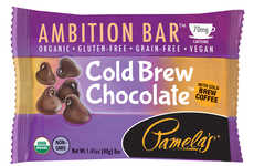 Beverage-Infused Snack Bars - These Gluten-Free Snacks from Pamela's Products Include Coffee and Tea
