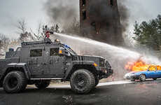 Armored Fire Truck Alternatives - The Lenco FireCat Can Stop Bullets and Budding Blazes